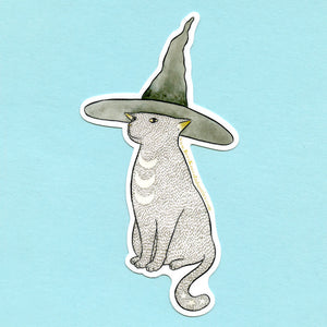 Lunar Witchcat Sticker