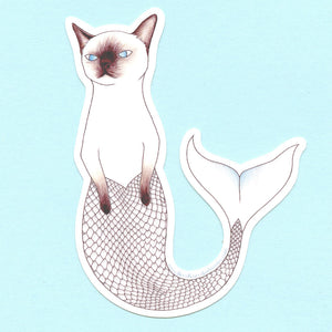 Purrmaid Sticker