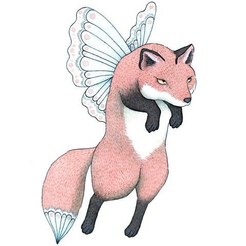 Fox Faerie Original Painting