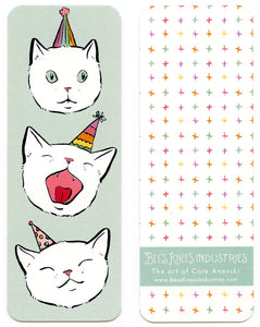 Birthday Cats Bookmark