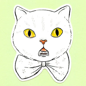 Bowtie Cat Sticker