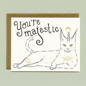 Caracal Cat Greeting Card