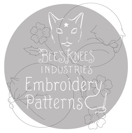 Catnaps PDF Embroidery Patterns