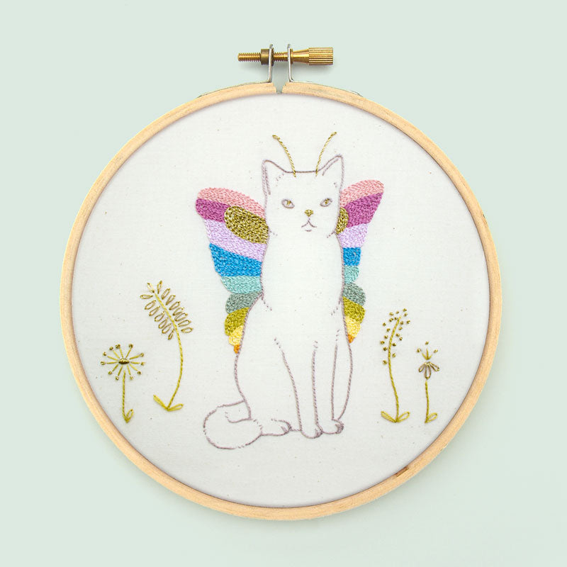 Catterfly PDF Embroidery Pattern