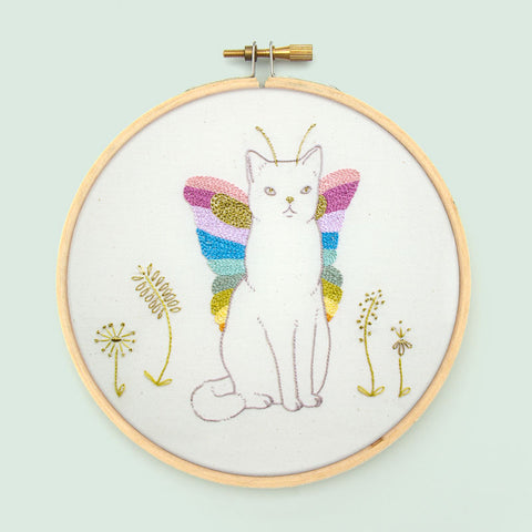 Catterfly Embroidery Pattern