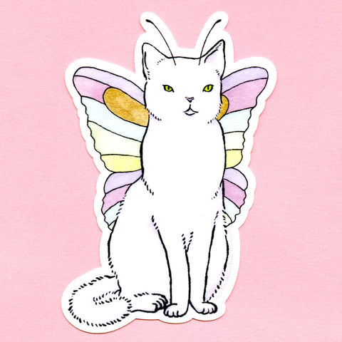Catterfly Sticker
