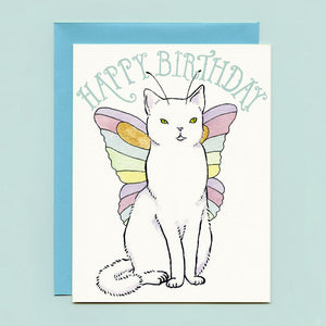Catterfly Birthday Card
