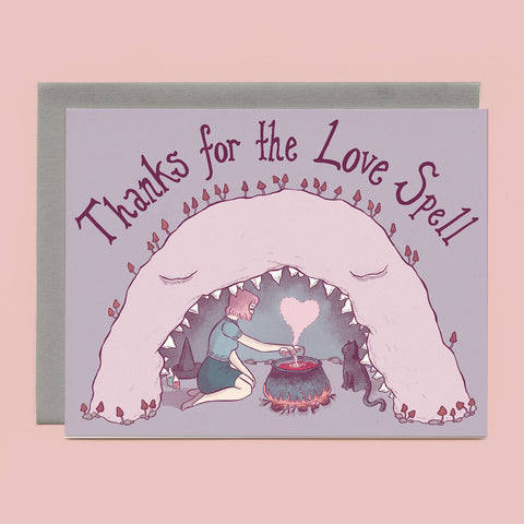 Cave Witch Greeting Card