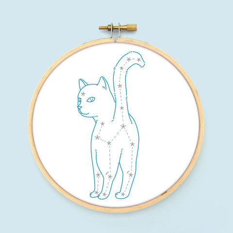 Galactic Goodbye PDF Embroidery Pattern
