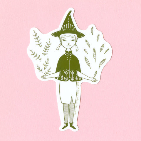 Hedge Witch Sticker