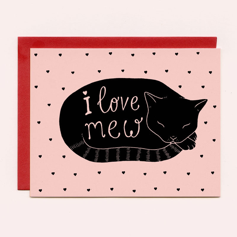 I Love Mew Greeting Card