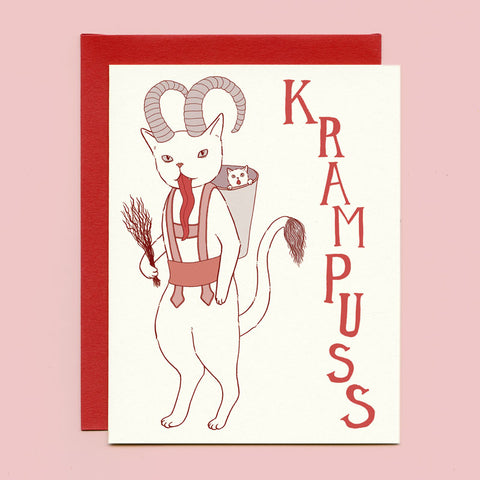 Krampuss Holiday Card