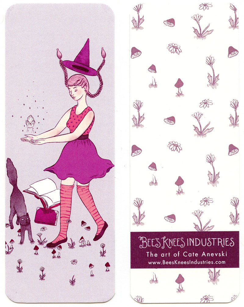 Levitation Witch Bookmark