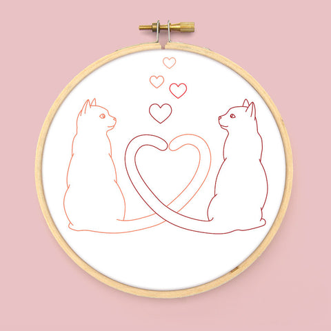 Love Tails PDF Embroidery Pattern
