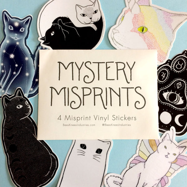 Mystery Seconds Sticker Packs