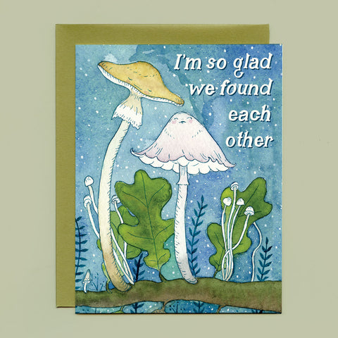 Mushroom Love Greeting Card