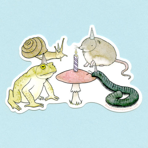 Party Animals Sticker