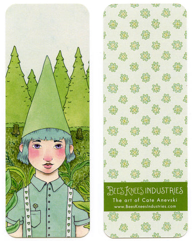 Pine Tree Gnome Bookmark