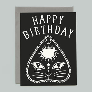 Planchatte Birthday Card