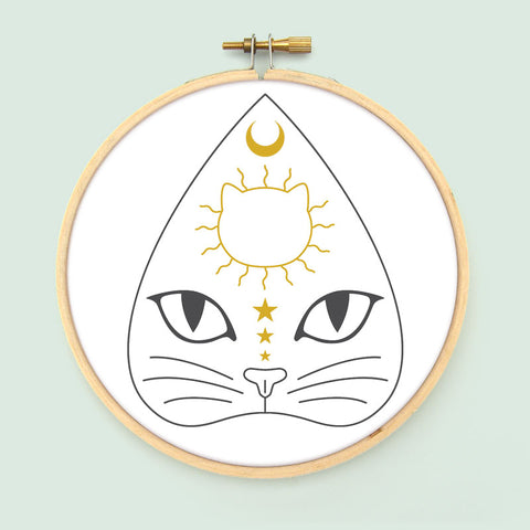 Planchatte Embroidery Pattern