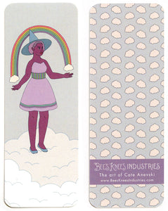 Rainbow Witch Bookmark