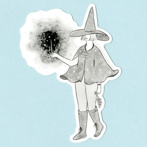 Starry Witch Sticker