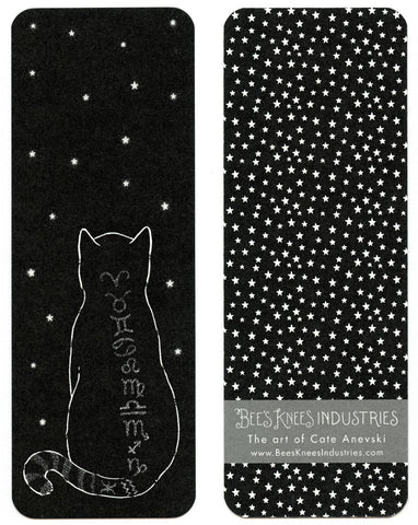 Zodiac Cat Bookmark
