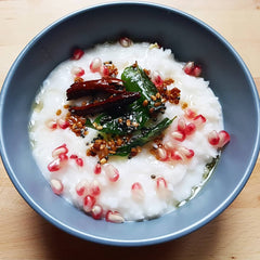 Vegan Spiced Yogurt Rice