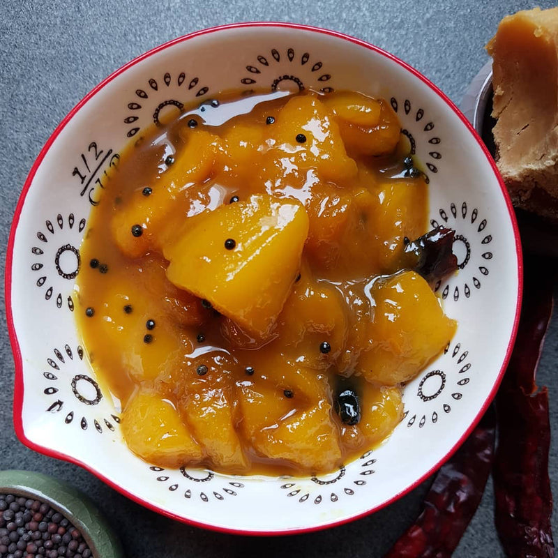 South Indian Style Mango Chutney