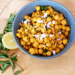 Chickpea Stir Fry (South Indian Snack)