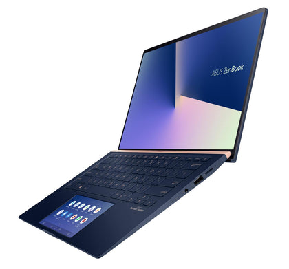 ZENBOOK w/ScreenPad, i7-10510U, WIN10-P, 14.0' FHD Touch, 16GB, 1TB SSD, MX250-2GB, 1x USB 2.0, 1x USB3.1, 1x USB-C, 1x HDMI, ROYAL BLUE, 1 YR PUR