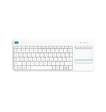Wireless Touch Keyboard K400 Plus   White