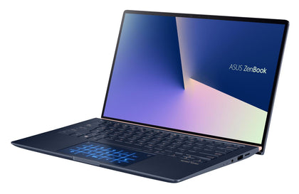 ZENBOOK, i7-10510U, WIN10-P, 14.0' FHD, 16GB, 512G SSD, Intel UHD Graphics 620, 1x USB 2.0, 1x USB3.1, 1x USB-C, ROYAL BLUE, 1 YR PUR