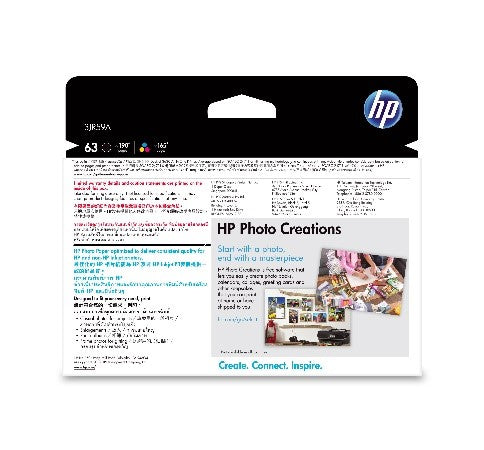 HP 63 Photo Value Pack APJ
