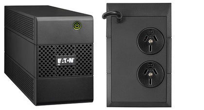 Eaton 5 E Ups 850 Va/480 W 2 X Anz Outlets, No Fan