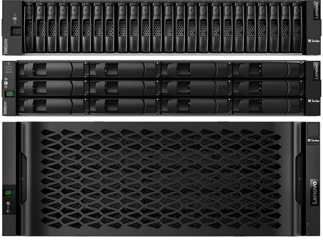 Storage Think System De4000 H Fc Hybrid Flash Array Sff (16 Gb Cache)