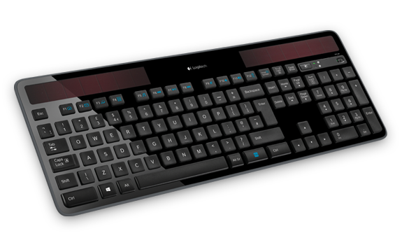Logitech Wireless Solar Keyboard K750r