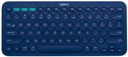 Logitech K380 Multi-Device Bluetooth Keyboard - Blue