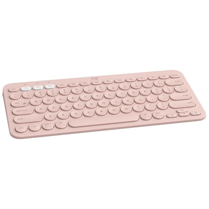 Logitech K380 Multi-Device Bluetooth Keyboard - Rose