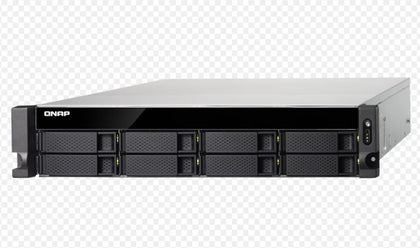 QNAP TS-873U-4G,8BAY NAS(NO DISK), RX-421ND, 4GB,10GbE, SFP+ 2,GbE x 4, M.2 x2 , 2U, 2 Years Warranty