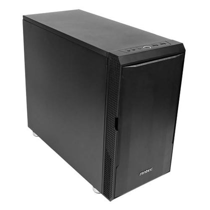 Antec P5 Micro ATX Case Sound Dampening. 5.25' x 1, 3.5' HDD x 2 / 2.5' SSD x 2. Business, Silent Gaming Case