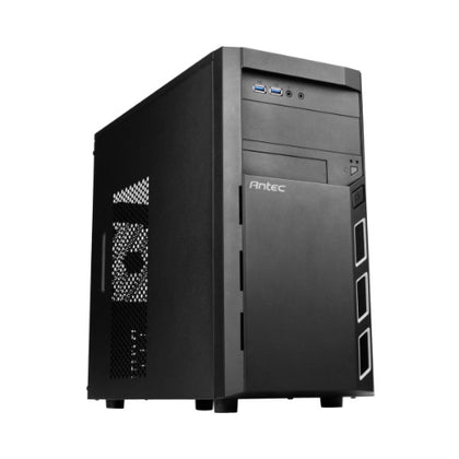 Antec VSK3000 ELITE Micro ATX Case.1x 5.25' External. 4x 3.5' Internal, 2x USB 3.0 Two Years Warranty