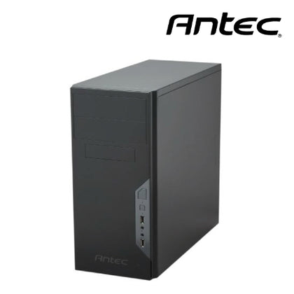 Antec VSK3500E-U3 mATX Case with 500w PSU. 2x USB 3.0 Thermally Advanced Builder's Case. 1x 92mm Fan. Two Years Warranty