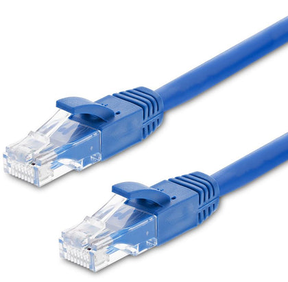 Astrotek CAT6 Cable 0.25m / 25cm - Blue Color Premium RJ45 Ethernet Network LAN UTP Patch Cord 26AWG