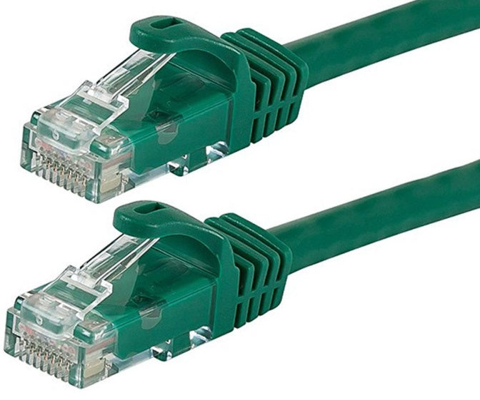 Astrotek CAT6 Cable 1m - Green Color Premium RJ45 Ethernet Network LAN UTP Patch Cord 26AWG-CCA PVC Jacket