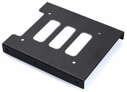 Aywun 2.5' to 3.5' Bracket Metal. Supports SSD.  Bulk Pack no screw.  *Some cases may not be compatible as screw holes may required to be drilled.