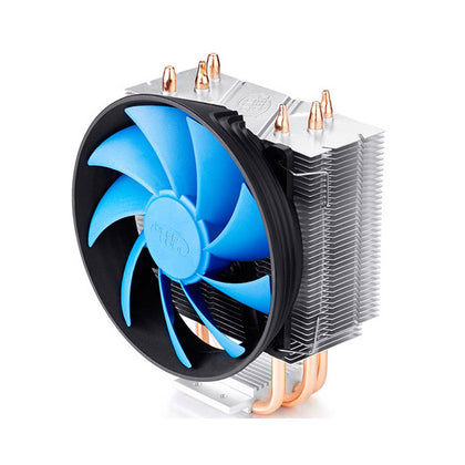 Deepcool Gammaxx 300 CPU Cooler 3 Heatpipes, 120mm PWM Fan Intel 130W LGA1366/115X/775 AMD AM4 AM3+ AM3 AM2+ AM2 FM2+ FM2 FM1