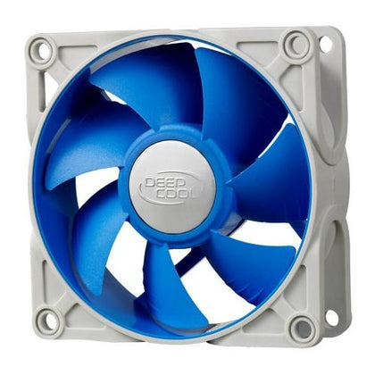 Deepcool Ultra Silent 80mm x 25mm Ball Bearing Case Fan with Anti-Vibration Frame PWM