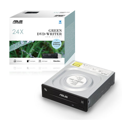 ASUS DRW-24D5MT Extreme Internal 24X DVD Writing Speed With M-Disc Support (IN RETAIL COLOUR BOX)