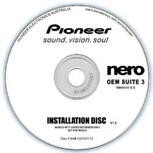 Pioneer Software Nero Suite 3 OEM Version 6.6 - Play Edit Burn & Share Blu-ray & 3D contents - PowerDVD10 InstantBurn5.0 Power2Go8.0 PowerProducer5.5